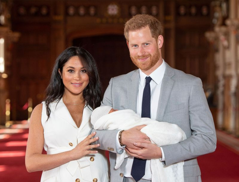 September 15th 2019 - Prince Harry The Duke of Sussex celebrates his 35th birthday. He was born on September 15th 1984 at St. Mary's Hospital in London, England, United Kingdom. - File Photo by: zz/KGC-375/STAR MAX/IPx 2019 5/8/19 Prince Harry The Duke of Sussex and Meghan The Duchess of Sussex with their baby son, who was born on Monday morning May 6th, at a photocall in St. George's Hall at Windsor Castle in Berkshire.