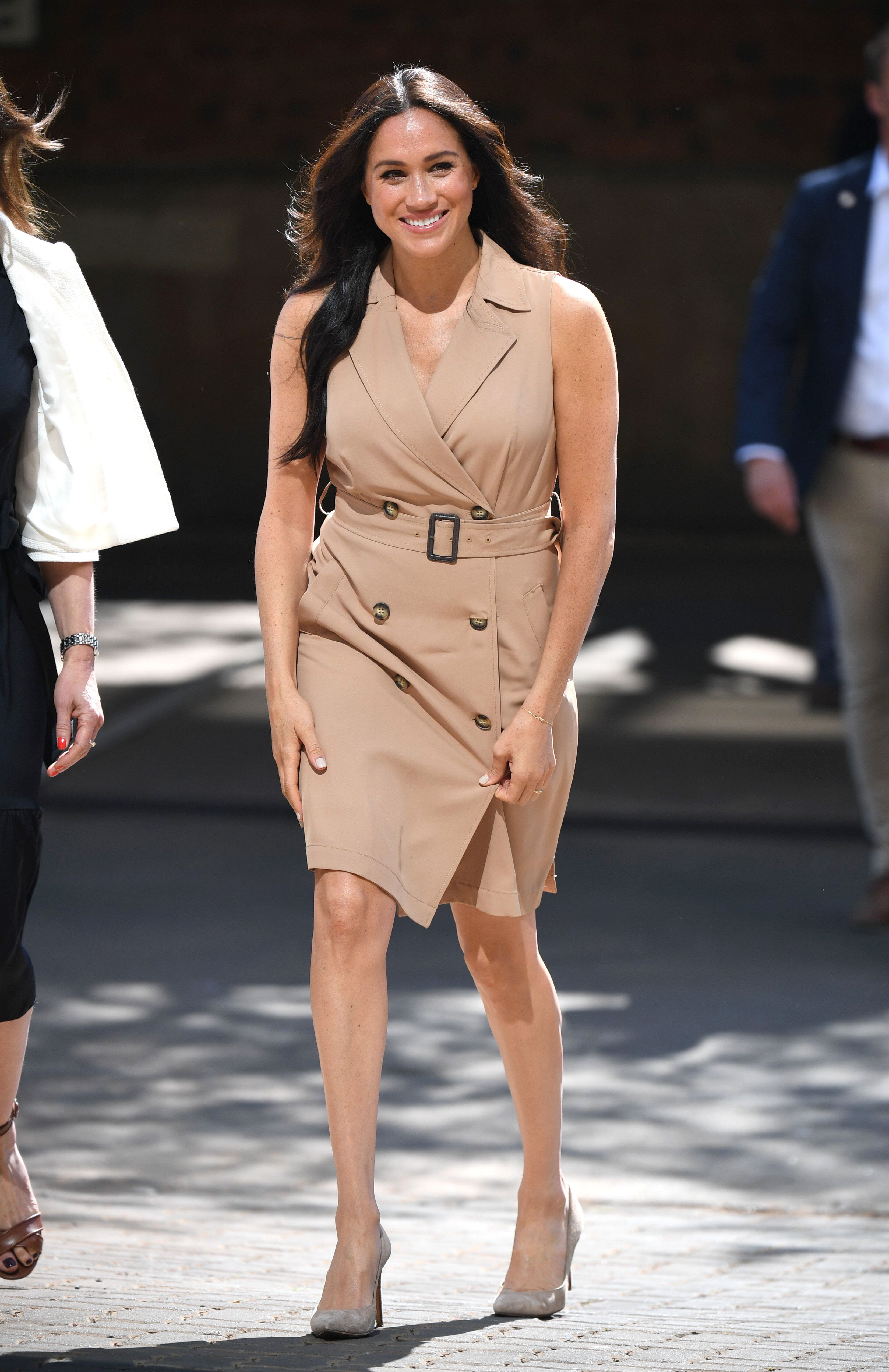 The University of Johannesburg stop is one of many by the Duke and Duchess of Sussex during their 10-day tour of South Africa