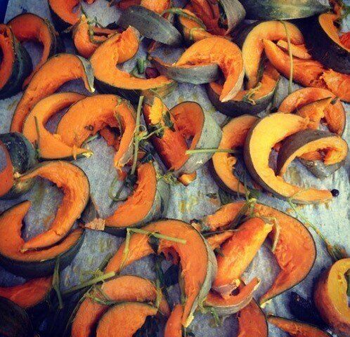 Alice Waters' roasted squash.