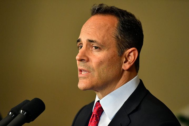 Kentucky Gov. Matt Bevin wants a recanvass of the voting results from Tuesday's gubernatorial elections.