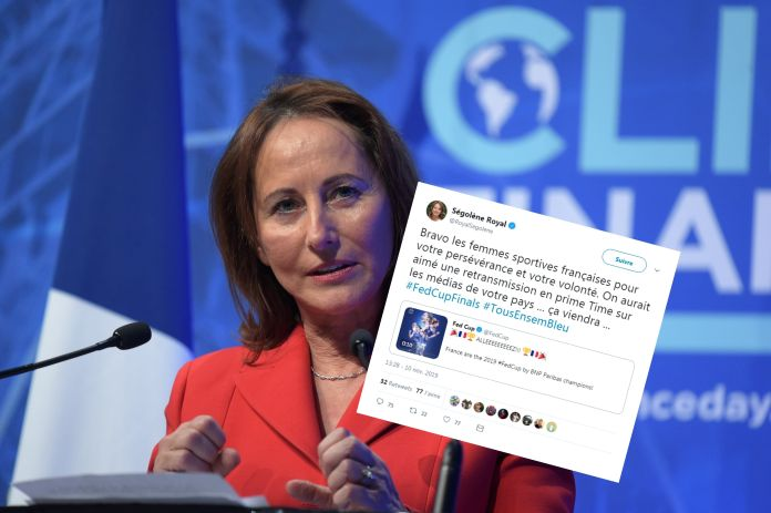Segolene Royal tweeted a little too quickly after the victory of the French ...