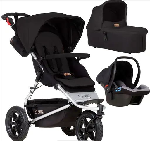 Mountain Buggy Urban Jungle Complete Travel System, The Baby Room, £722