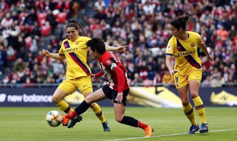 32.000 personas asisten al Athletic-Barça femenino (0-3)   El HuffPost
