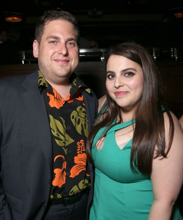 """Jonah Hill and sister Beanie Feldstein attend the after-party for the premiere of Universal Pictures' """"Neighbors 2: Sorority"""