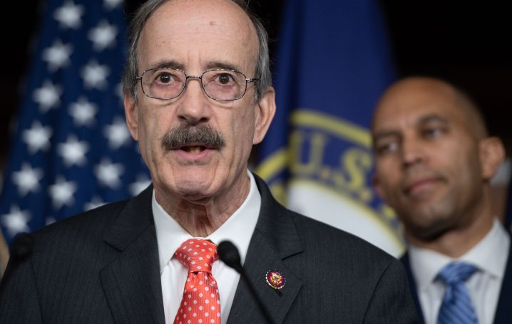 House Foreign Affairs Committee Chairman Eliot Engel, a New York Democrat, limited his exposure to progressive attacks with a