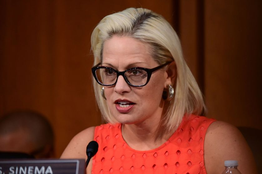 Kyrsten Sinema in 2018 became the first Democrat in 24 years to win a U.S. Senate seat in Arizona, helping spur the hopes of