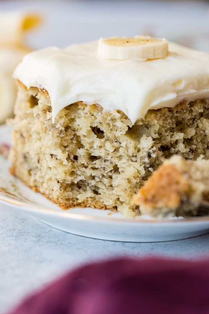 Get The Best Banana Cake recipe from Oh Sweet Basil