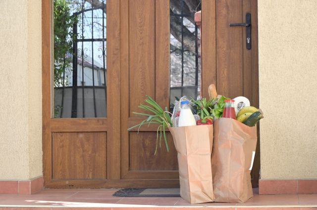 If you're able to, offer to help deliver groceries to elderly folk who might not be able to go out to get ingredients for dinner.