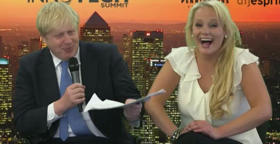 Boris Johnson and Jennifer