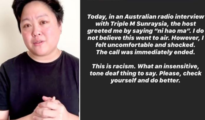 'Check Yourself And Do Better': MaterChef's Sarah Tiong Calls Out Triple M Host's 'Racist'