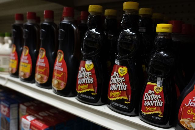 Conagra Brands announced Wednesday that it has begun a complete brand and packaging review of Mrs. Butterworth's.