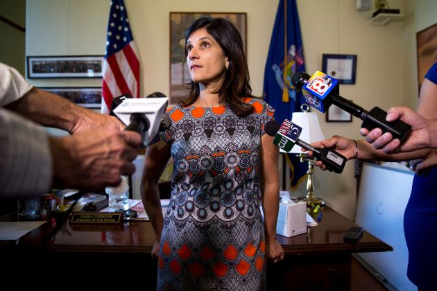 Andrew Romanoff Maine House Speaker Sara Gideon, who is expected to win that state's Democratic primary to take on GOP Sen. Susan Collins, fa