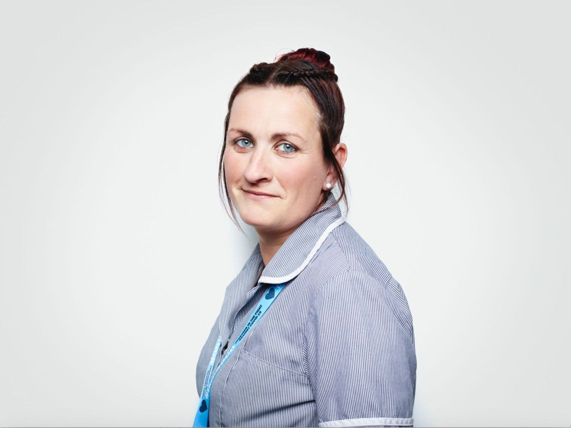 Laura Arrowsmith, Cleaner, Mid Cheshire Hospitals NHS Foundation Trust