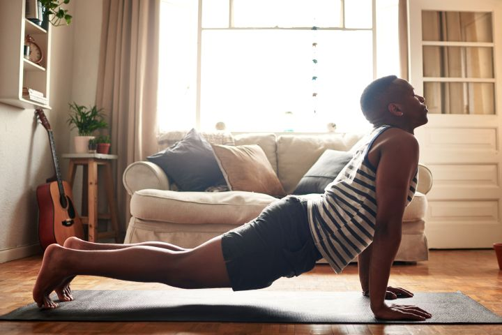 """""""It's easy to fall into the all-or-nothing mindset when it comes to fitness, but the truth is that the benefits you reap from moving your body are cumulative,"""" says psychologist Logan Jones."""