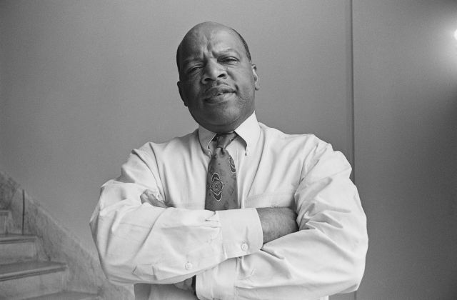 Representative John Lewis, D-Ga. August 13, 1991 (Photo by Laura Patterson/CQ Roll Call via Getty Images)