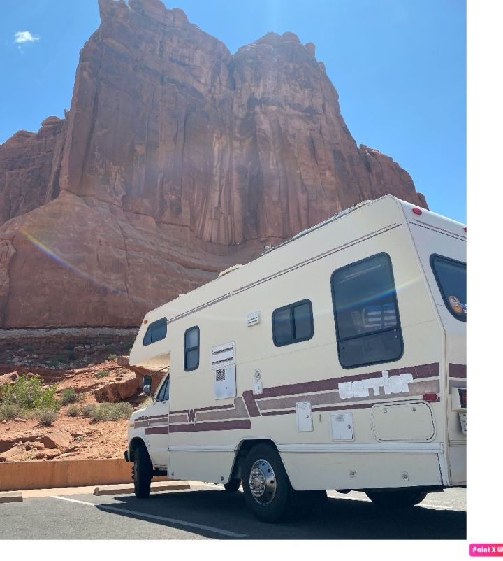 A stop at Arches National Park early in the trip.