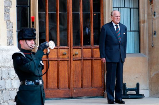 Buckingham Palace reveals the cause of Prince Philip's hospitalization