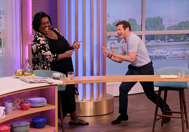 Alison Hammond And Dermot O'Leary Teamed Up To Present This Morning And It Was A Total Joy-Fest