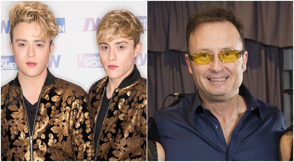 Jedward Brand The Corrs Guitarist Jim 'Idiotic' For Support Of Anti-Face Mask Protest In Twitter Row