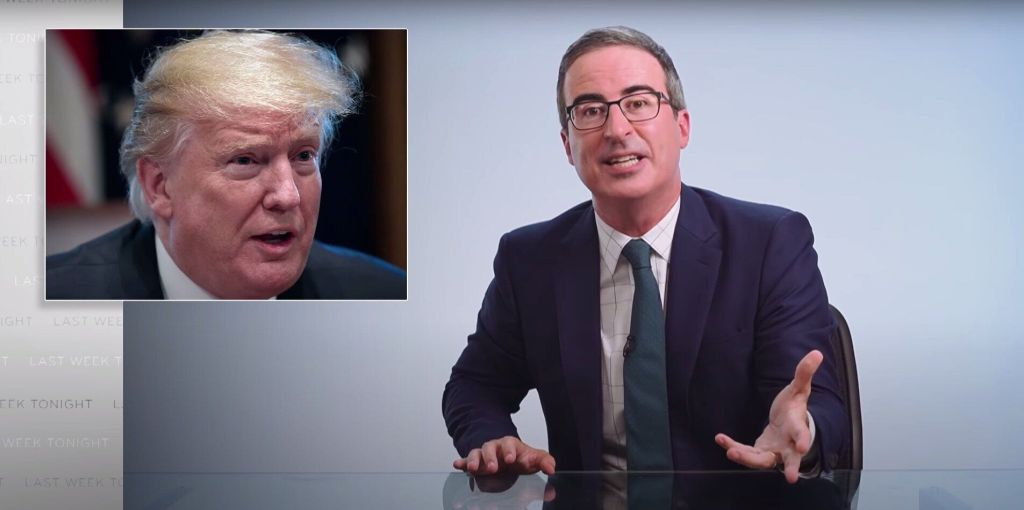 US Talk Show Host John Oliver Shows How Trump Built The Perfect 'F**king Monument' To Himself
