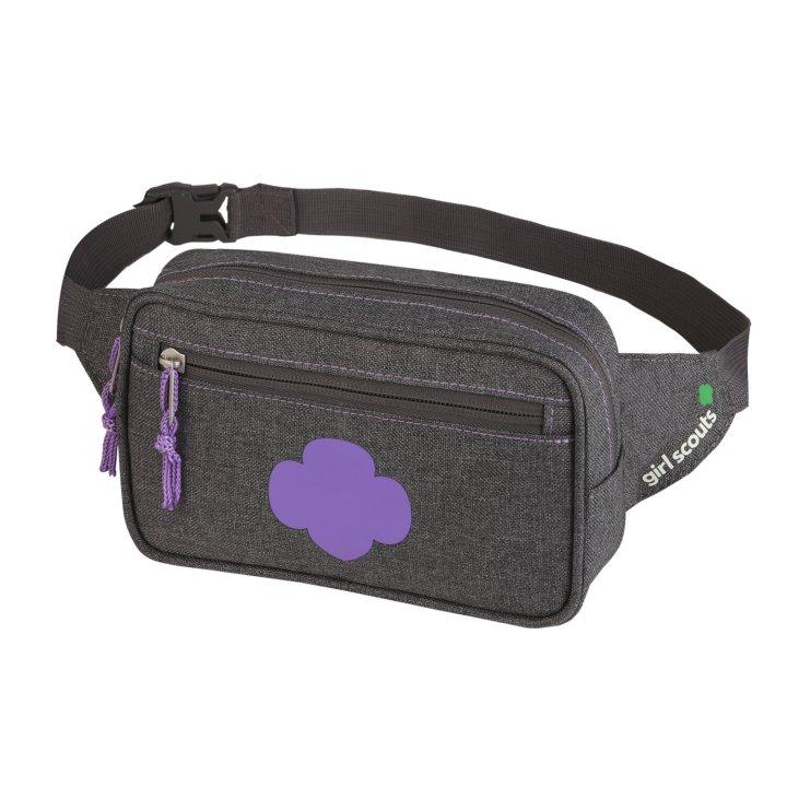 """<a href=""""https://www.girlscoutshop.com/eco-friendly-belt-bag"""" target=""""_blank"""" rel=""""noopener noreferrer"""">Eco-Friendly Belt Bag, $24</a>"""