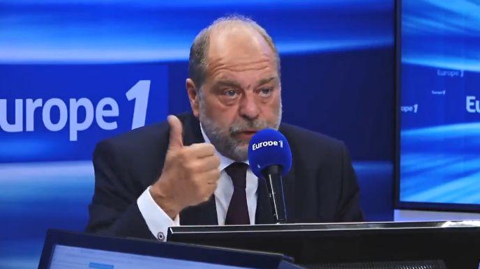 Eric Dupond-Moretti, ministre de la Justice, sur Europe 1 le 1er