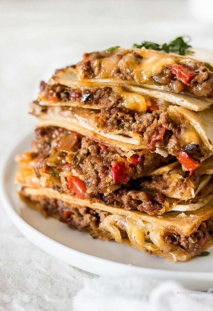 Sheet Pan Quesadillas from Whisk It Real Gud