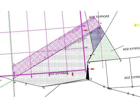 Σχήμα 4: Όρια NAVTEX