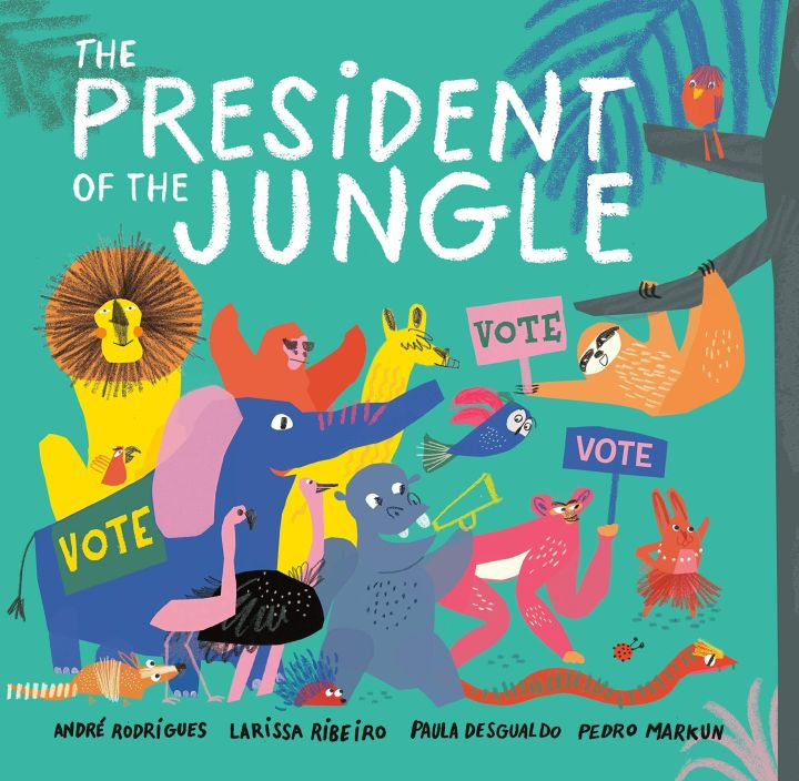 There are many children's books that cover election-related topics.