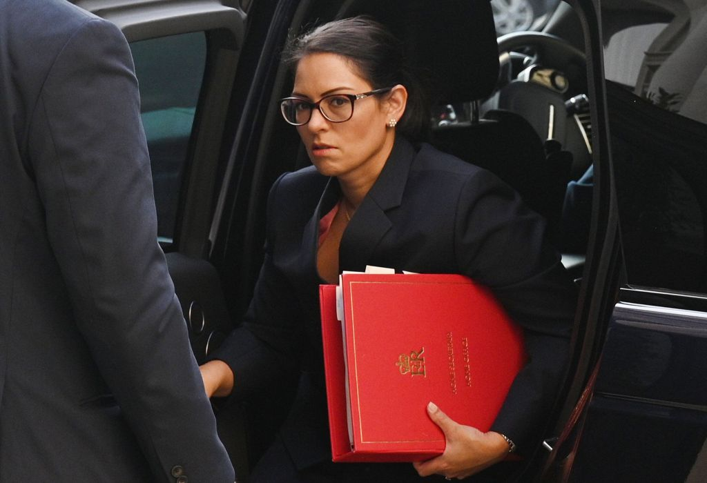Yes, Priti Patel Is Considering Shipping Asylum Seekers Offshore