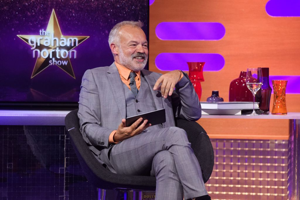 Graham Norton Fans Relieved To See Chat Show Return To Studio –Albeit With Major Changes
