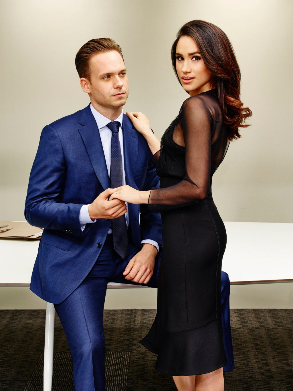 Meghan Markle's Former Suits Co-Star Patrick J Adams Admits He's Now Too 'Intimidated' To Call His Royal Friend