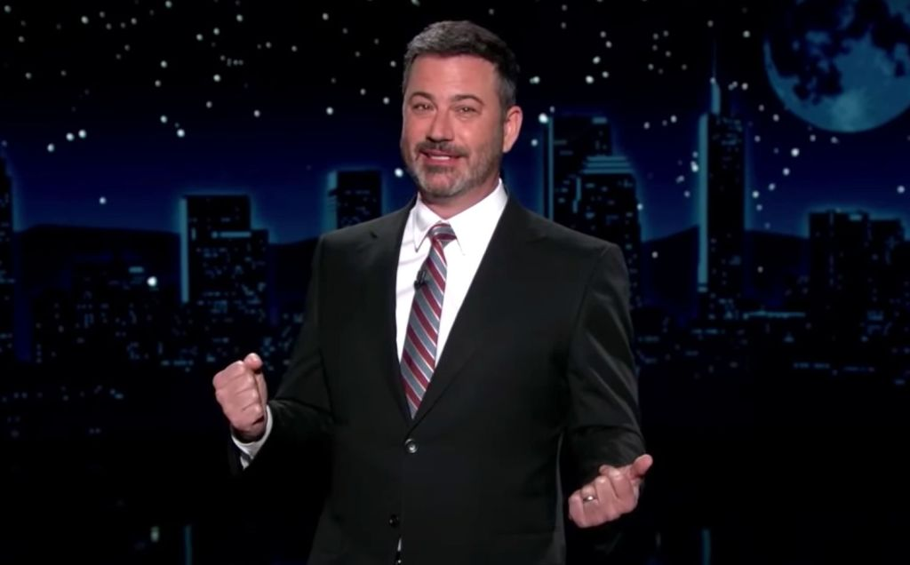 Jimmy Kimmel Imagines How Donald Trump's Superman T-Shirt Stunt Could Have Played Out