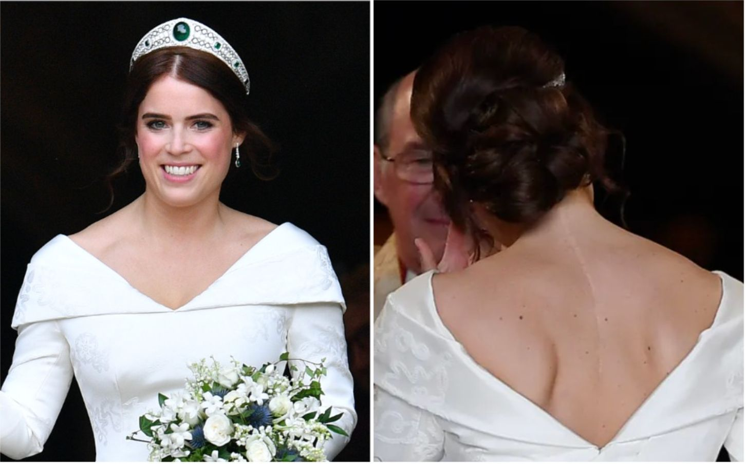 Princess Eugenie on her wedding day on Oct. 12, 2018.