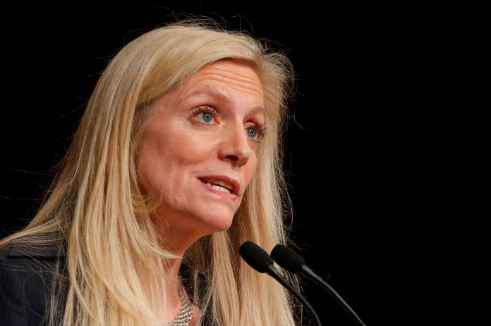 Federal Reserve Board Governor Lael Brainard is being touted in the financial press as a top contender for Biden's Treasury s