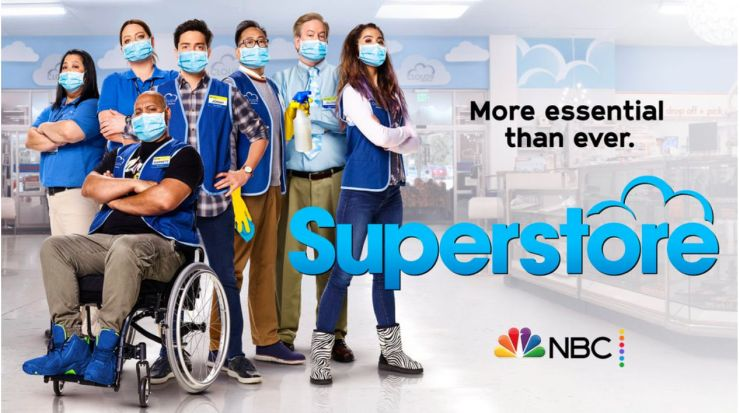 """The comedy """"Superstore"""" is another TV show addressing the coronavirus pandemic and realities of essential workers in its new"""