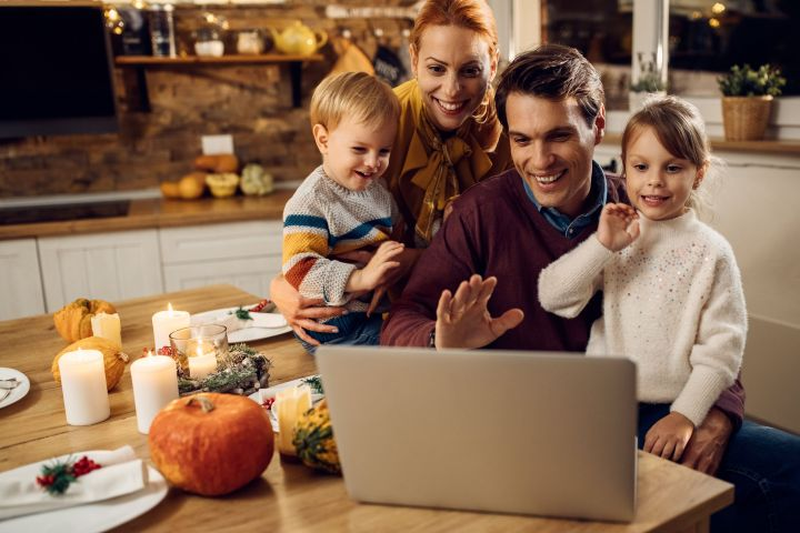 Experts suggest adapting family traditions so they can be carried out virtually.