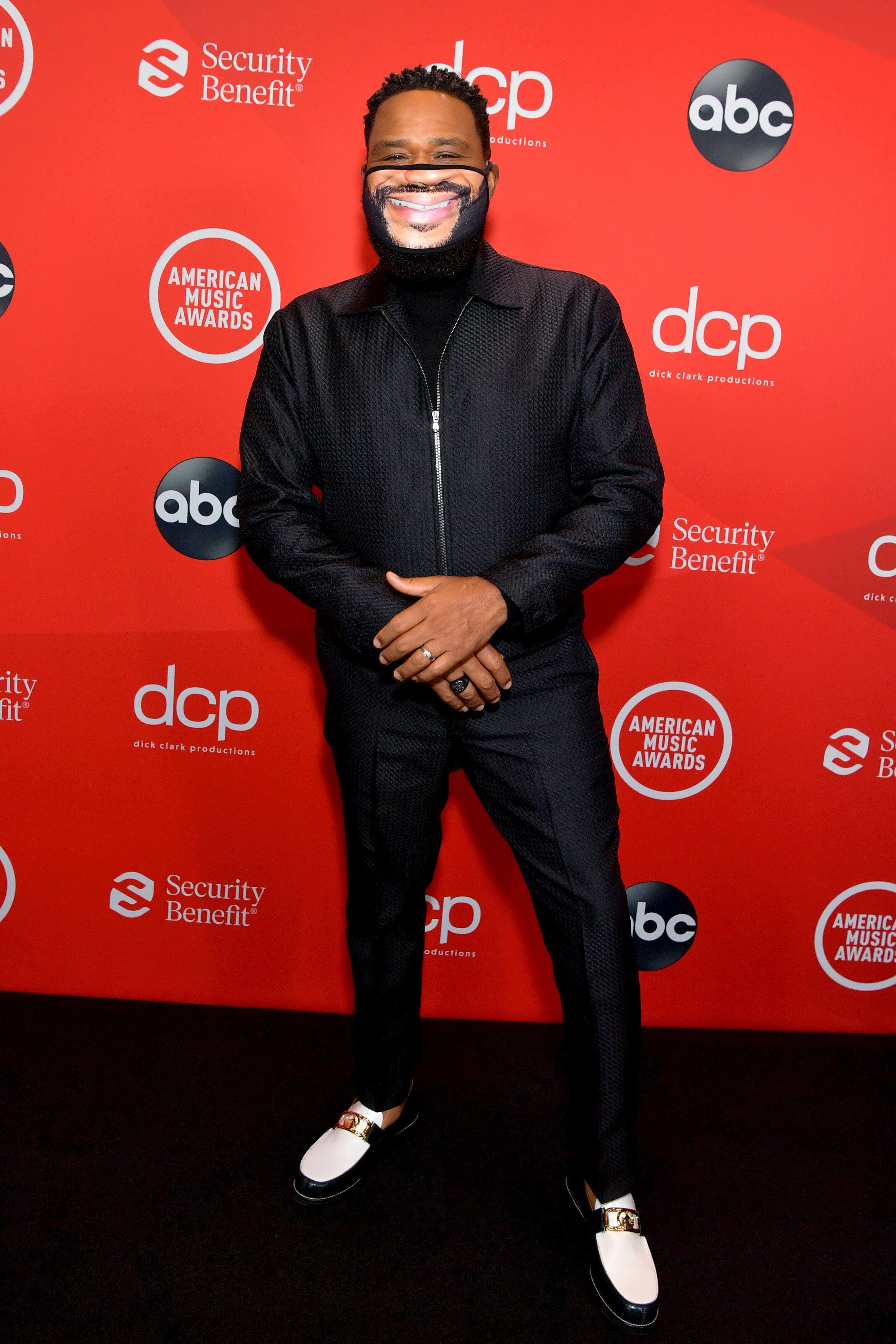 Anthony Anderson attends the 2020 American Music Awards at the Microsoft Theater on Sunday in Los Angeles.