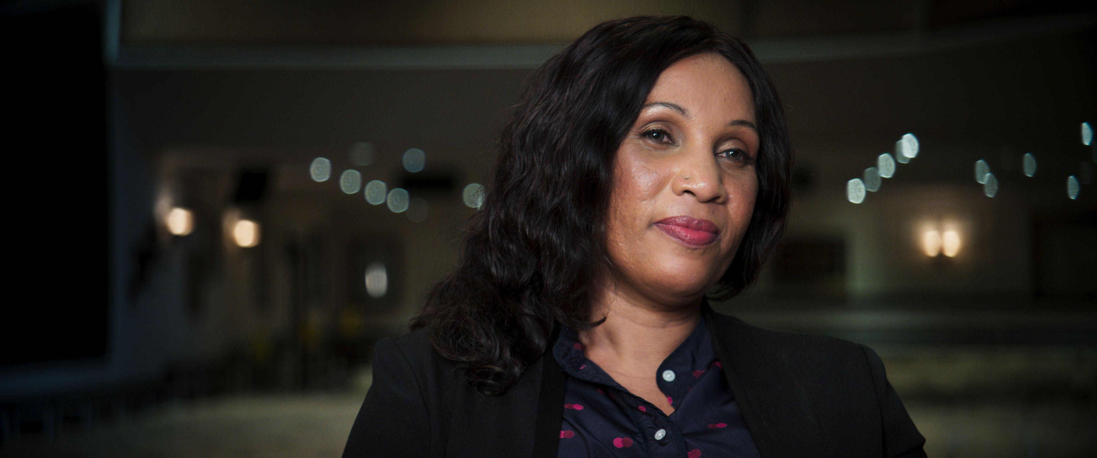 Nafissatou Diallo témoigne devant la caméra du documentaire
