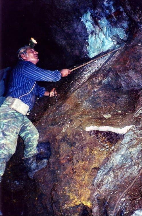 Οι συλλέκτες ορυκτών...