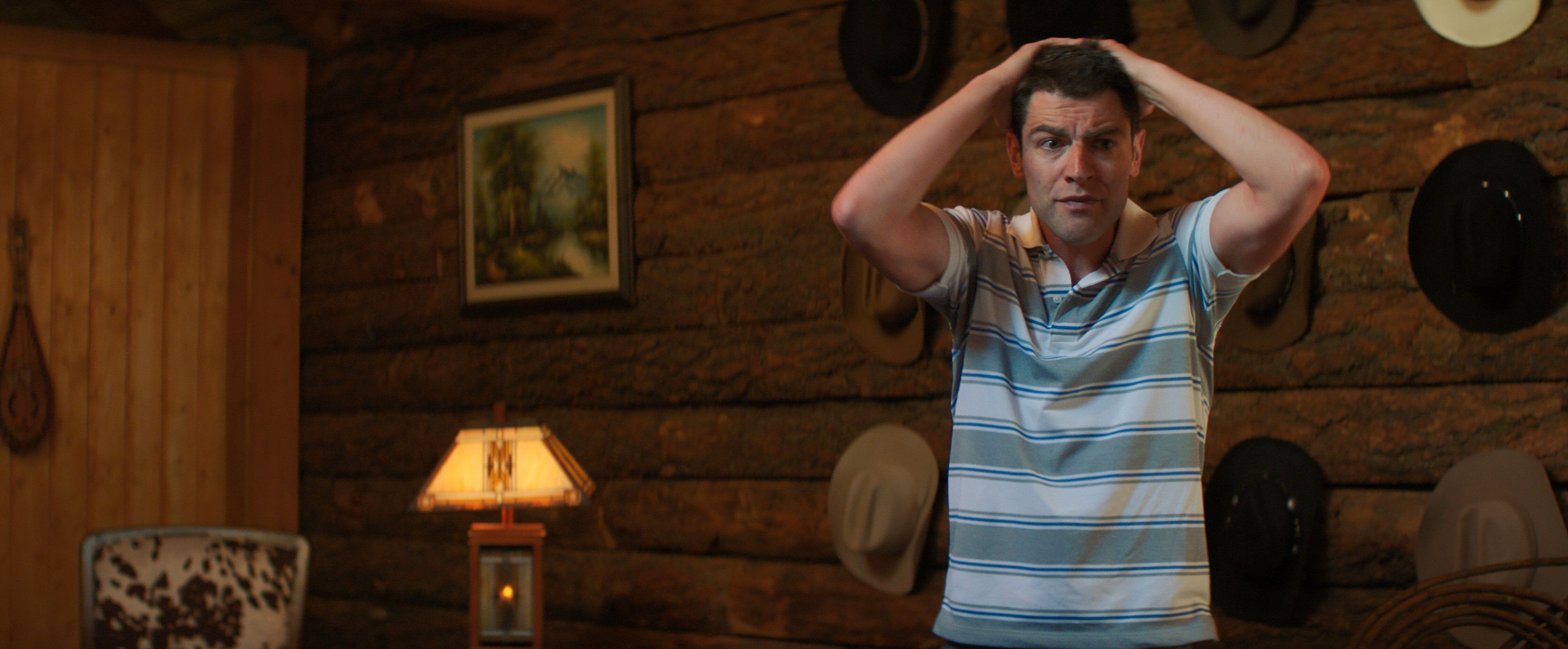"Max Greenfield in ""Promising Young Woman."""