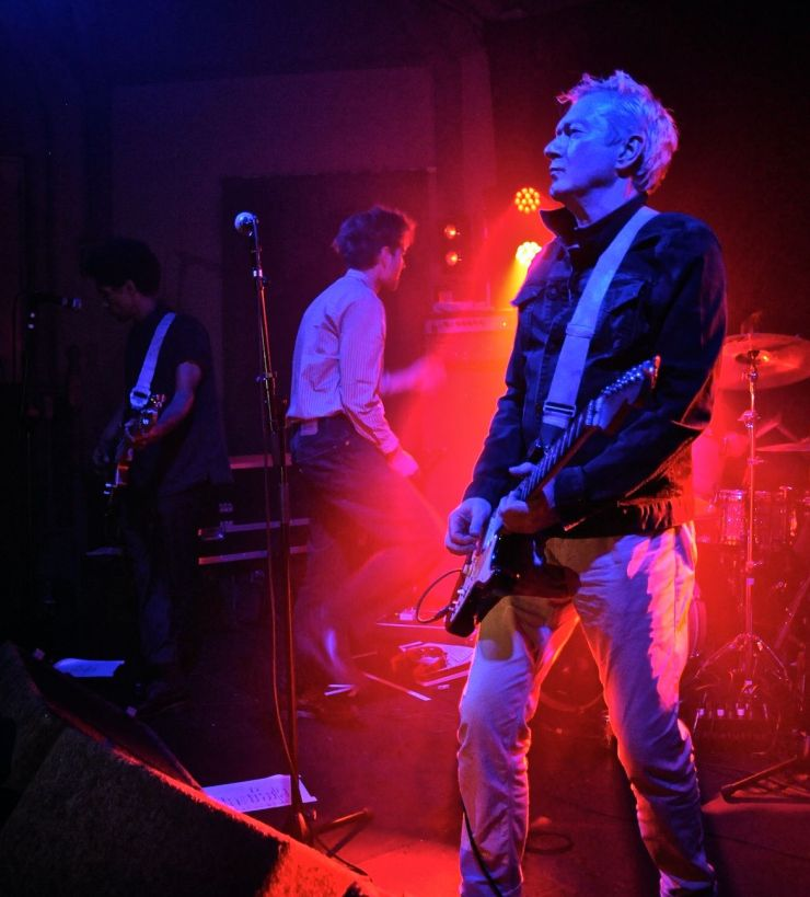 Andy Gill performing with band Gang of Four