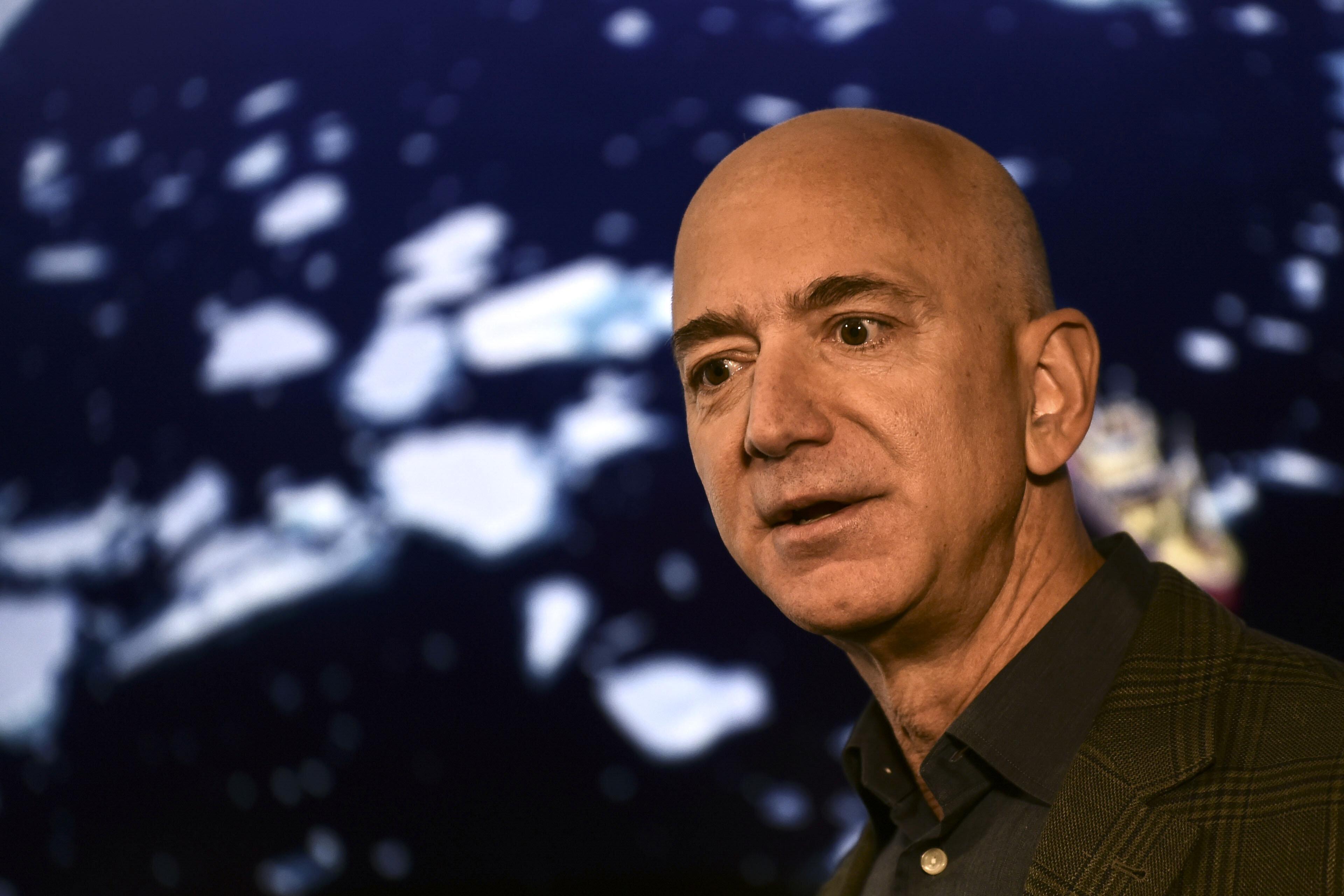 Jeff Bezos, ici à Washington aux États-Unis, le 19 septembre