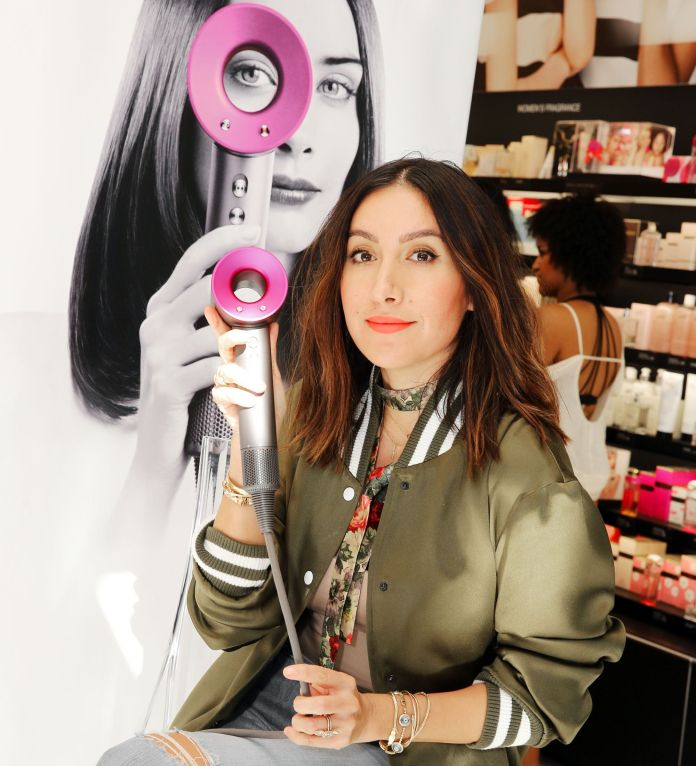Celebrity hairstylist Jane Atkin supported Dyson Supersonic Hair Dryer at an event in Los Angeles in 2016.