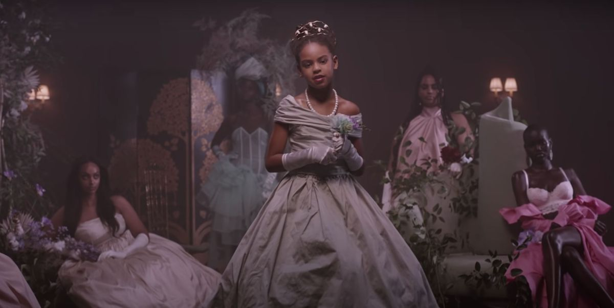 Blue Ivy as seen in the Brown Skin Girl music
