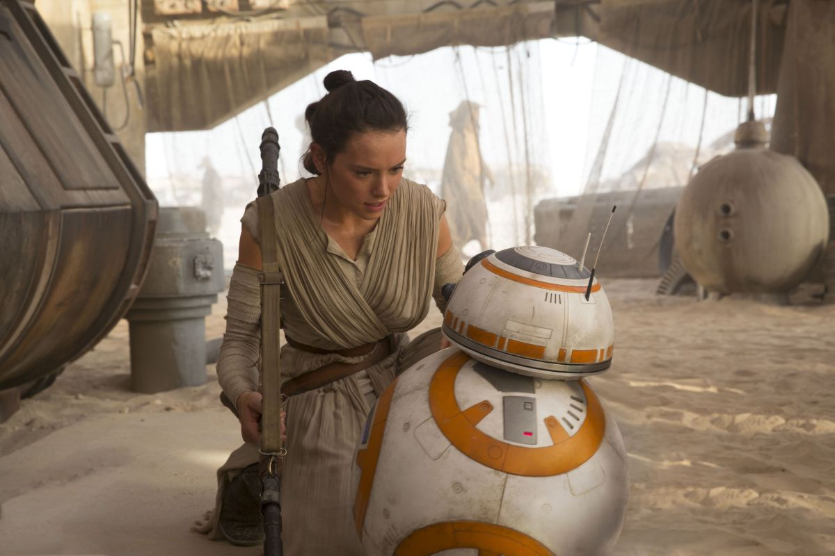 Daisy in character in The Force