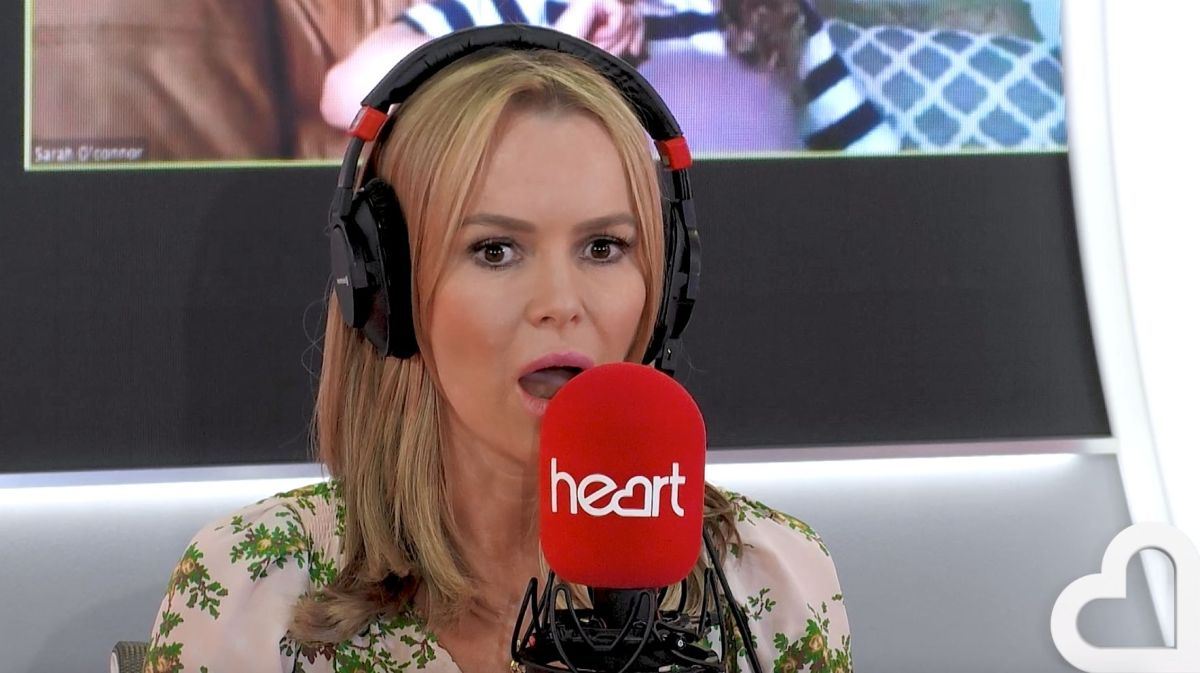 Amanda Holden could not mask her shock as the scene