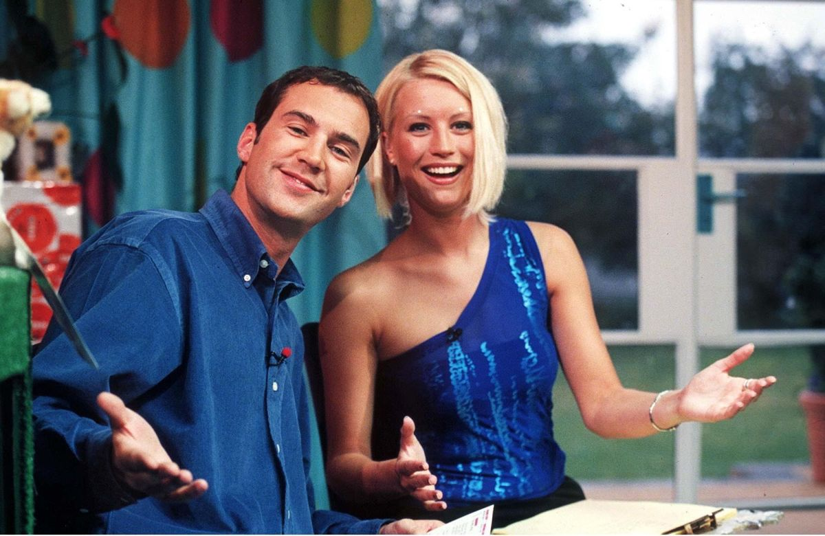 Johnny Vaughan and Denise Van Outen on The Big