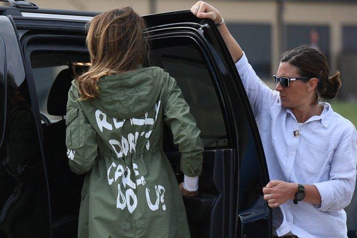 Melania Trump wore,