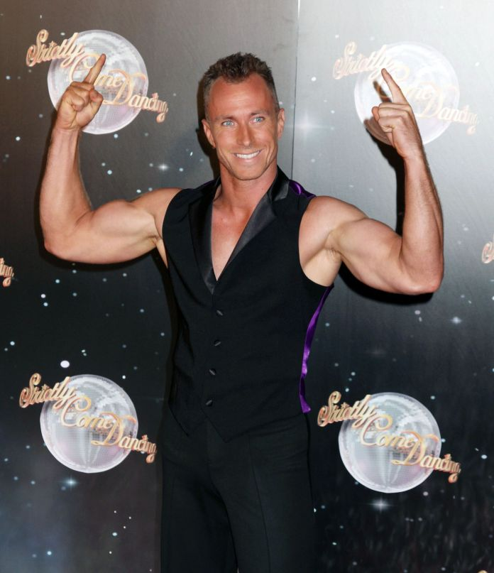 James Jordan at the Strictly Come Dancing launch in